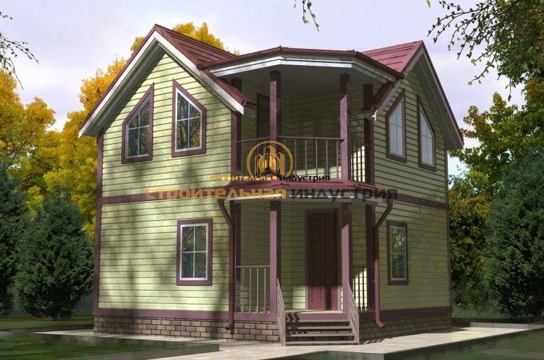 Проект дома 6610