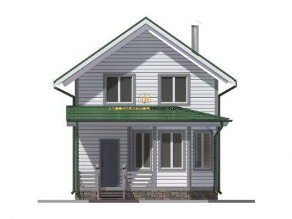 Проект дома 6614