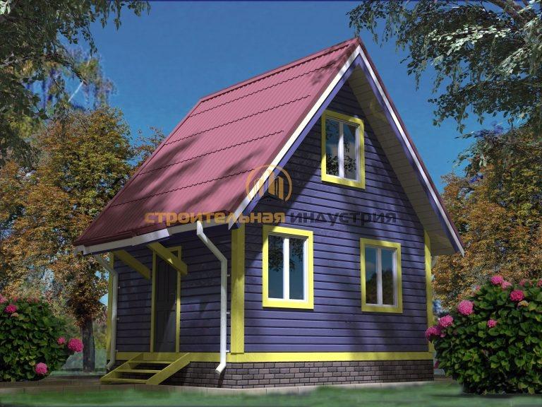 Дом из бруса 4501