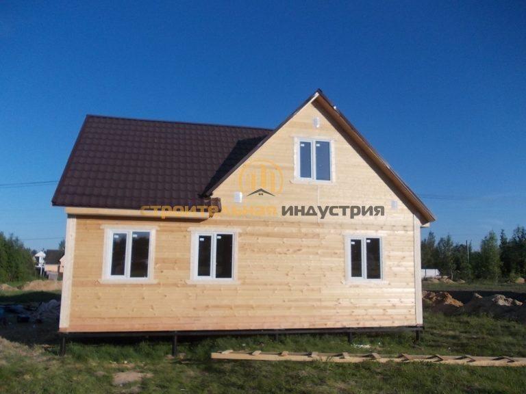 Дом из бруса 8х9м. п.Агалатово