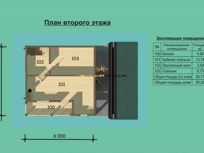 Проект дома 6613