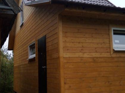 Дом каркасный 4,3х8,5м. п.Мшинская