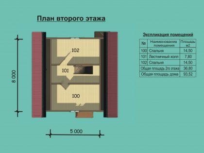 Проект дома 8802