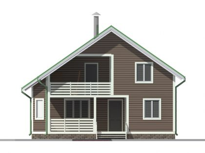 Проект дома 9802