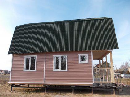 Дом каркасный 6х7,5м. д.Полично