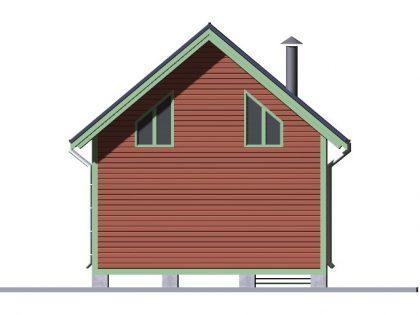 Дом из бруса 6809