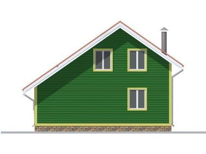 Дом из бруса 8803