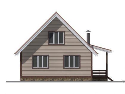 Дом из бруса 7702