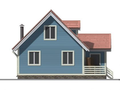 Дом из бруса 81001