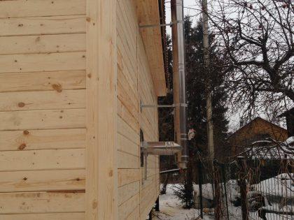 Дом из бруса 6х8, д.Васкелово