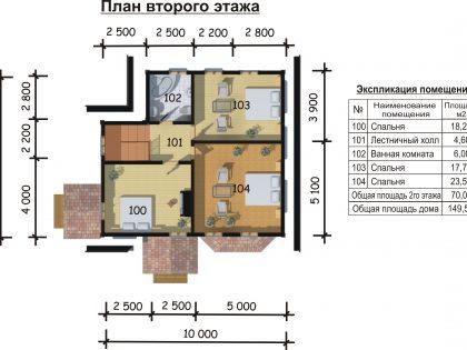 Проект дома 91001