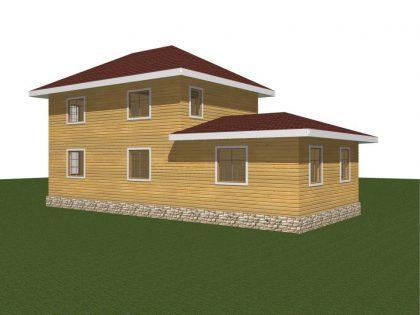 Проект дома 169м2
